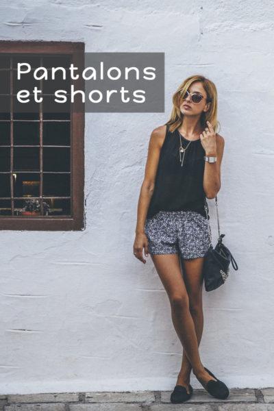 Boutique en ligne Bidules et Machinchoz - Les pantalons et shorts