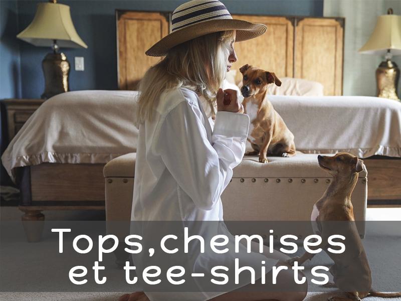 Boutique en ligne Bidules et Machinchoz - Les tops et chemises